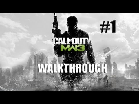 CoD: Modern Warfare 3 - Walkthrough Part 1 [Delta: Black Tuesday] - THE BEGINNING Introduction - W/Commentary
