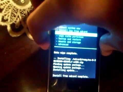 Jak wgrać najnowszy Cyanogenmod 9 Nightly Kernel 1GHz Google Service na lg e400 wymagany root .m4v