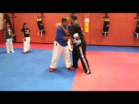 Duarte Shotokan Karate Academy - Kumite / MMA clinch for Sparring