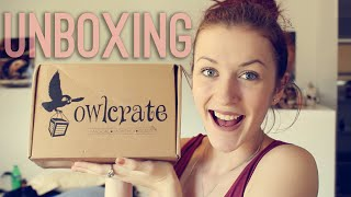 OWLCRATE UNBOXING