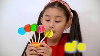 Kinderlieder Und Lernfarben with Baby Gombal Candy Kids Children