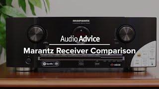 Marantz Receiver Comparison (NR1508, NR1608, SR5012, SR6012)