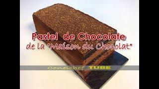 Pastel De Chocolate Semiamargo Con Bizcocho Sin Harina Maison Du Chocolat