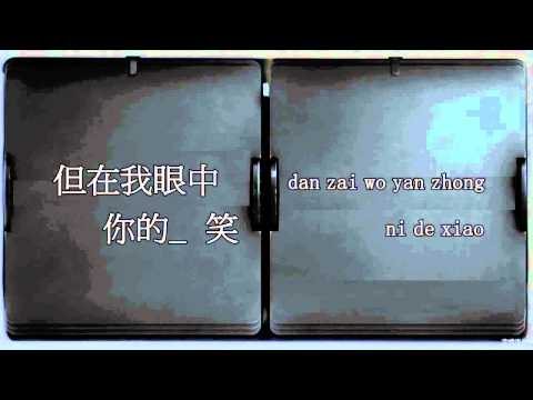 依然愛你Yi Ran Ai Ni - 王力宏Wang LeeHom (Instrumental  Karaoke with pinyin lyrics)