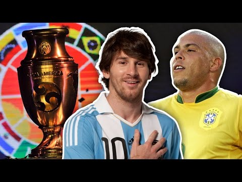 Greatest Ever Copa America XI | Simeone, Ronaldo & Messi!