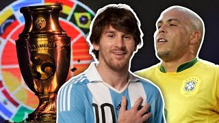 Greatest Ever Copa America XI | Simeone, Ronaldo & Messi!