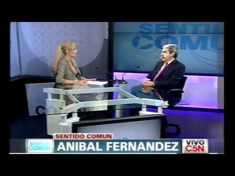 Anibal Fernandez sobre Ciccone y Amado Boudou con Viviana Canosa