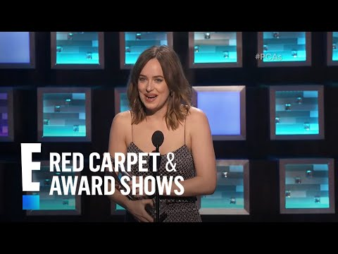 The People's Choice for Favorite Dramatic Movie Actress is Dakota Johnson