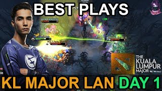 Kuala Lumpur Major BEST PLAYS DAY 1 Highlights Dota 2 by Time 2 Dota #dota2 #KLMajor