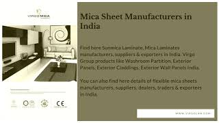 PVC Sheet For Furniture Manufacturers In India