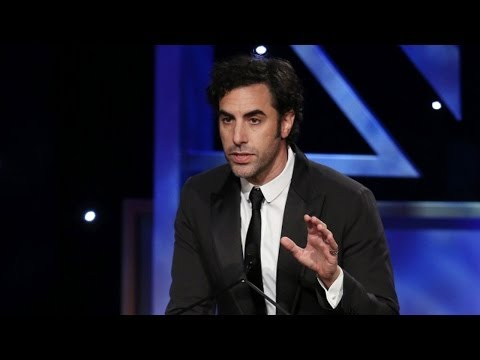 SACHA BARON COHEN Kills Presenter & Accepts Award (Extended) - 2013 Britannia Awards on BBC AMERICA Music Videos