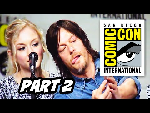 Walking Dead Comic Con 2014 Panel - Part 2