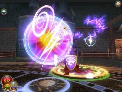 Wizard 101 PVP Battles John VS James