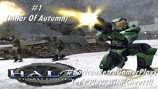 Let's Play: Halo: Combat Evolved (PC)  (Level 1 with cheats)