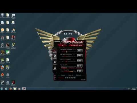 Overclocking the ASUS GTX 660 DirectCU II OC Edition with GPU Tweak