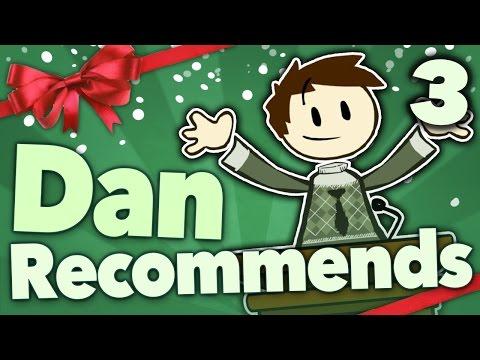 Dan Recommends - Find New Creators: Brain Food Edition