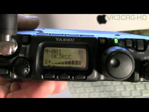VK3CRG New Toys (radios) Yaesu FT-817ND QRP HF, VHF & UHF transceiver & Kenwood TM-D710A Dual Bander