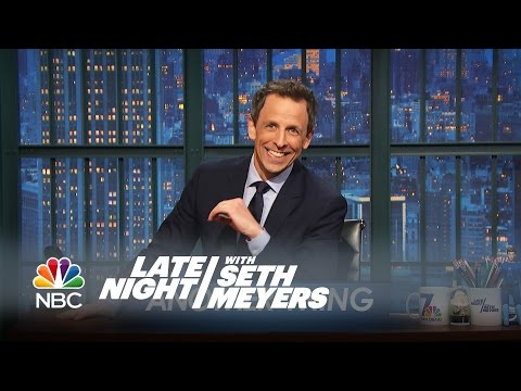 Couple Things: Indiana's Anti-Gay Law – Late Night with Seth Meyers