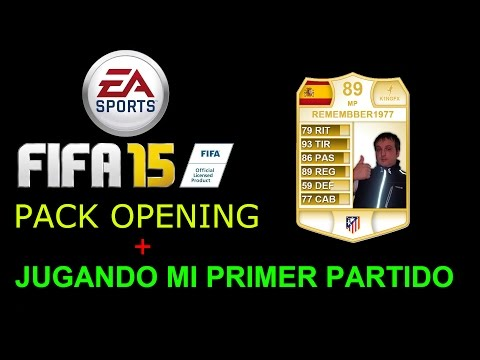 FIFA 15 MI PRIMER PACK OPENING ¡¡¡ ZOLA LEYENDA Y REUS