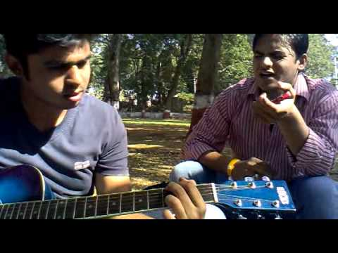 dhaval mistry bakhuda tumhi ho & tu jane na on guitar.mp4
