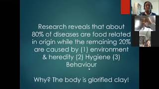 DTI Destiny Talk Series- The State of your Gut Determines the State of your Health.