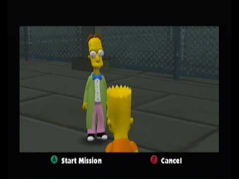 The Simpsons Hit and Run Walkthrough pt6