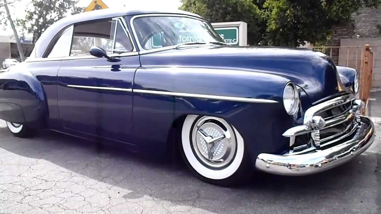 Old Chevy Cars >> 1950 Chevrolet Bel Air - YouTube
