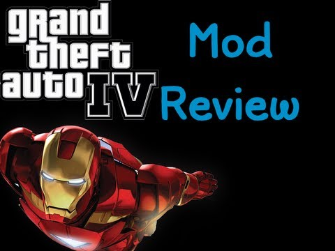 Grand theft auto IV Iron Man Gta 4 Mod PC
