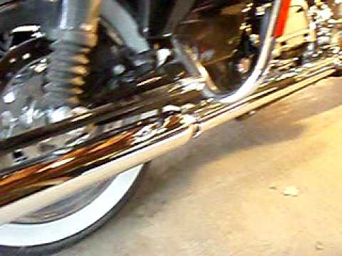 2009 Road King Classic , samson true dual headers and 32