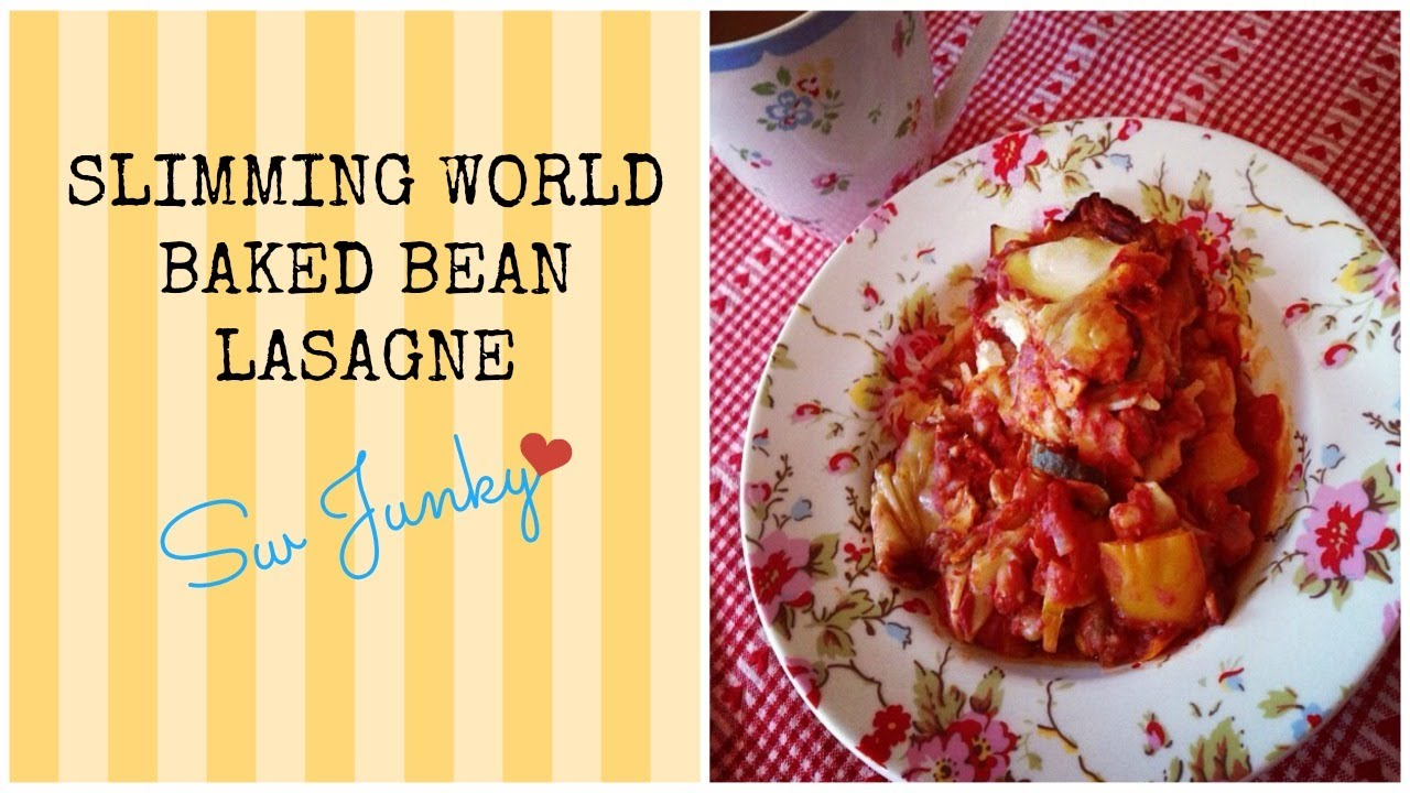 Slimming World Recipe Baked Bean Lasagne - YouTube