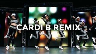 Download Lagu Cardi B Remix - Bartier Cardi, Bodak Yellow, MotorSport, No Limit/Plain Jane (Dance Video) Gratis STAFABAND