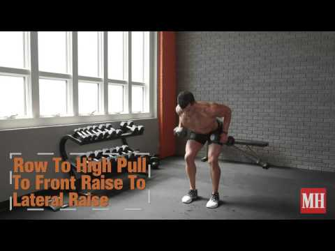 38 Dumbbell Exercises You Need To Try