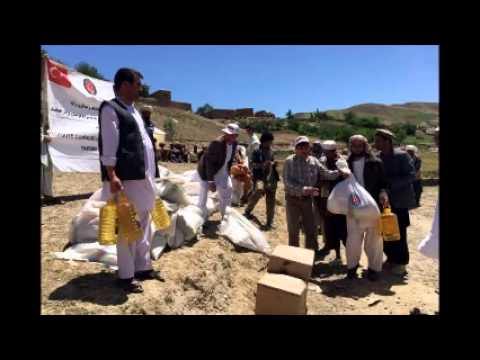 Turkish aid agency helps flood victims in Afghanistan