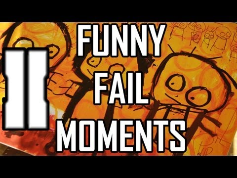 Funny BO2 Fail Moments Montage - Call of Duty Black Ops 2