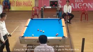 Tùng Hải Dương - Nam Nghệ An | Giải Pool 9 Ball Vô Địch Quốc Gia V1 2019