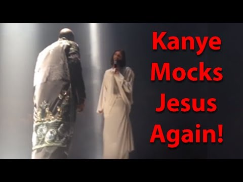 Kanye West mocks Jesus again!