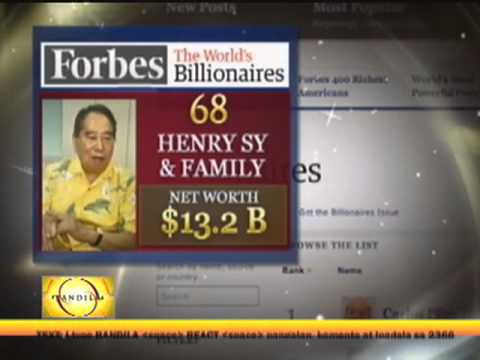 Pinoy tycoons among world's top billionaires
