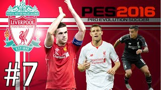 PES 2016-Master League (Liverpool) #7 | PUKLA PETARDA | ☆ SRB/HRV/BIH Gameplay ☆