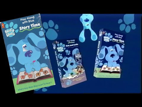 Opening to Blue's Clues: Story Time 1998 VHS (60fps rerecord)