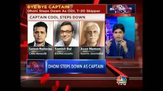 Dhoni Steps Down As Captain