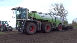 Claas Xerion-Kaweco-Steyr / Gülle 2017