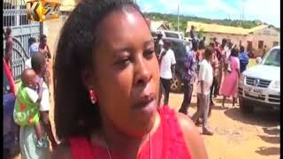 Supporters of gov. Ngilu and MP Mulyungi clash in a public rally