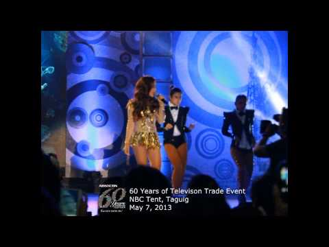 Kim &amp; Maja, nag-showdown sa ABS-CBN 60 Years Trade Event