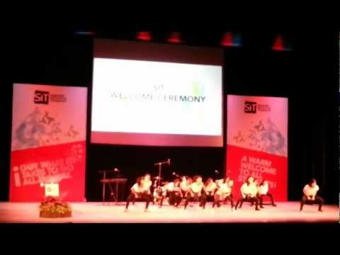 Singapore Institute of Technology (SIT) Welcome Ceremony 2012 - Dance Performance (HD Version)