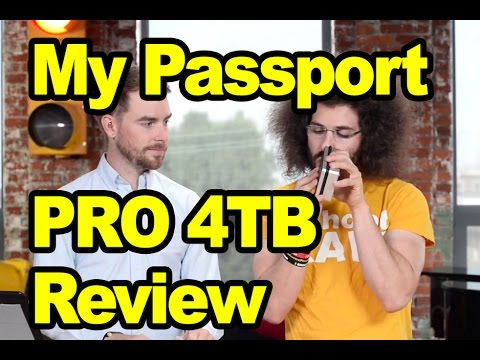 Western Digital My Passport PRO 4TB Thunderbolt Review