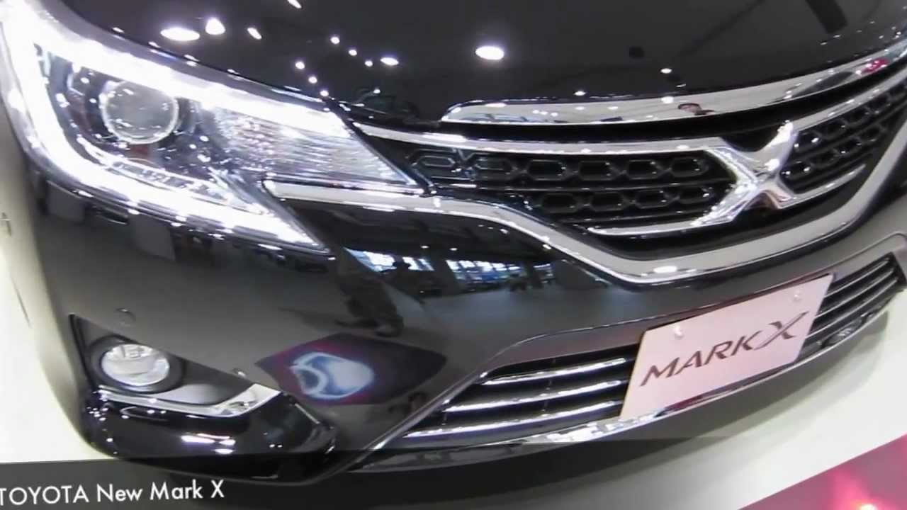 Toyota New Markx 2013 Model In Tokyo Show Case Youtube