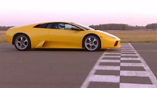 Stig drives Lamborghini Murcielago  - The Stig - BBC
