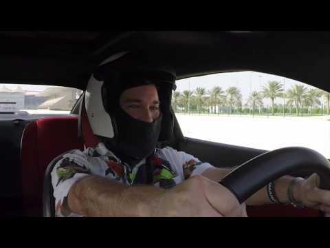 Drag Racing on YAS Marina Circuit Abu Dhabi