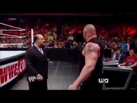 Brock Lesnar destroys 3MB for The Shield