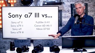 Sony a7 III vs THE WORLD